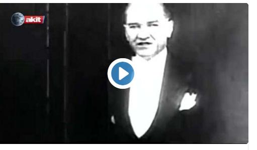 Akit TV'den Atatürk'e hakaret..