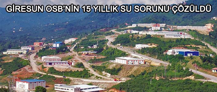 Photo of GİRESUN OSB'YE BELEDİYEDEN CAN SUYU
