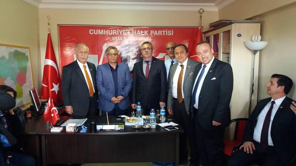 BEKTAŞOĞLU CHP HEYETİYLE UŞAK'TA...