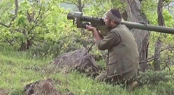 PKK GİRESUN'DA YOL DA KESTİ