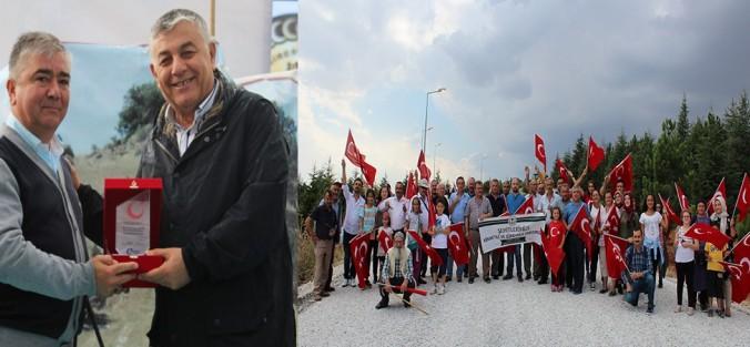 Photo of İSCEHİSAR GİRESUN ŞEHİTLİĞİ'NDE TÖREN
