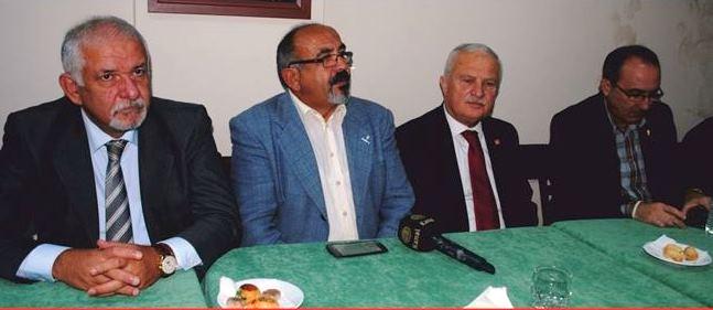 Photo of HASAN AKGÜN, RÜŞTÜ KURT, EŞREF KARAİBRAHİM'DEN VALİLİĞE TEPKİ