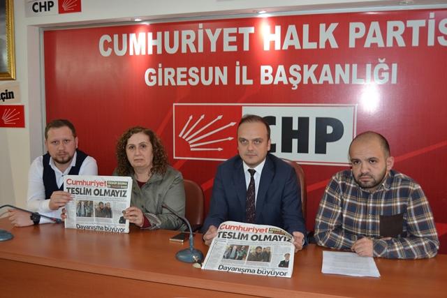CHP CUMHURİYET'E SAHİP ÇIKTI