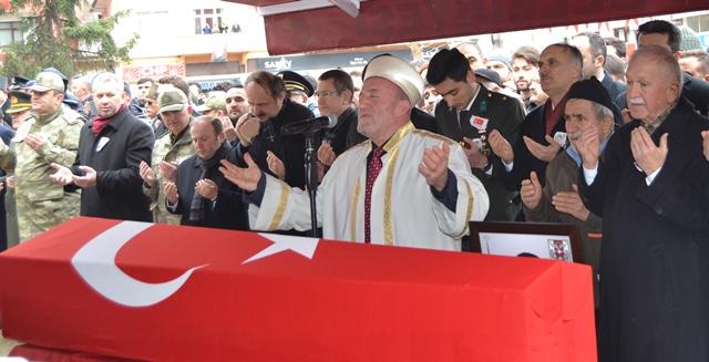 ŞEHİT TEĞMEN FURKAN'A VEDA