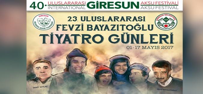 Photo of GİRESUN'DA TİYATRO GÜNLERİ BAŞLADI