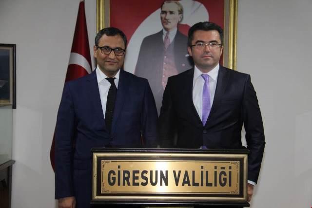 Photo of VALİ OKAY MEMİŞ'TEN GİRESUN VALİSİNE ZİYARET