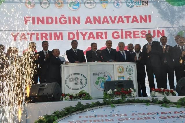 Photo of BAKAN EROĞLU GİRESUN'DA TEMEL ATTI