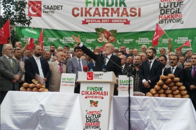 Photo of SAADET PARTİSİ'NİN FINDIK AÇIKLAMASINA KATILIM AZDI