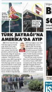 TÜRGEV'CİLERİN TÜRK EVİ'NDEKİ TÜRK BAYRAĞI 'GÜYA' DEĞİŞTİ!..