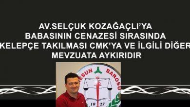 Photo of KELEPÇELİ CENAZEYE GİRESUN BAROSU'NDAN TEPKİ