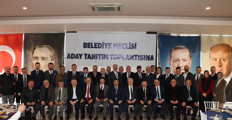 Photo of AKP ADAYI AYTEKİN ŞENLİKOĞLU MECLİS ADAYLARIYLA SAHADA…