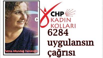 Photo of CHP İL KADIN KOLLARI BAŞKANI DEMİROĞLU'NDAN KADIN CİNAYETLERİNE TEPKİ