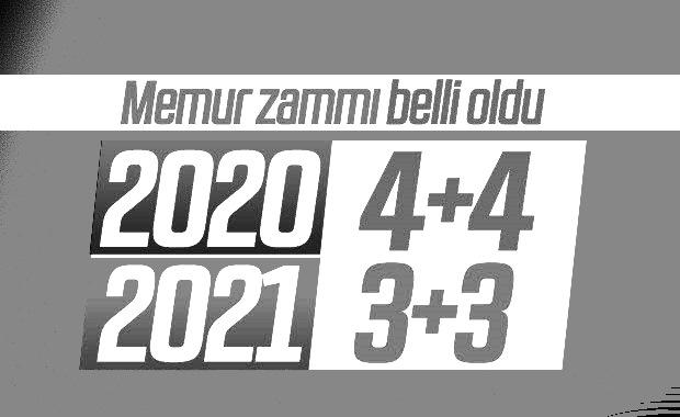 MEMURA 4+4'LÜK ZAM