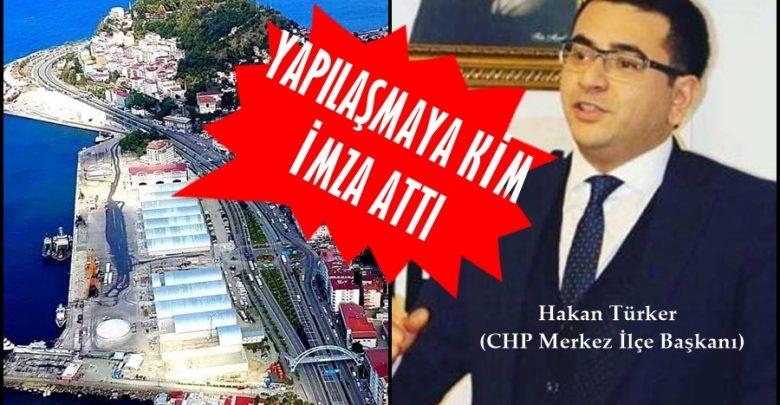 CHP'DEN LİMANDAKİ YAPILAŞMAYA TEPKİ