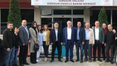 Photo of AK Parti heyetinden Engelli Bakım Merkezine Ziyaret