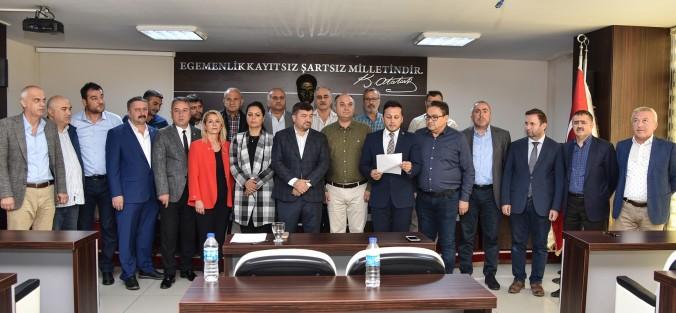 MECLİSLER BARIŞ PINARI HAREKATI'NA DESTEK VERDİLER