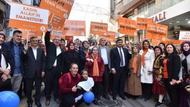 Photo of AK PARTİ KADINA ŞİDDETİ PROTESTO YÜRÜYÜŞÜ DÜZENLEDİ