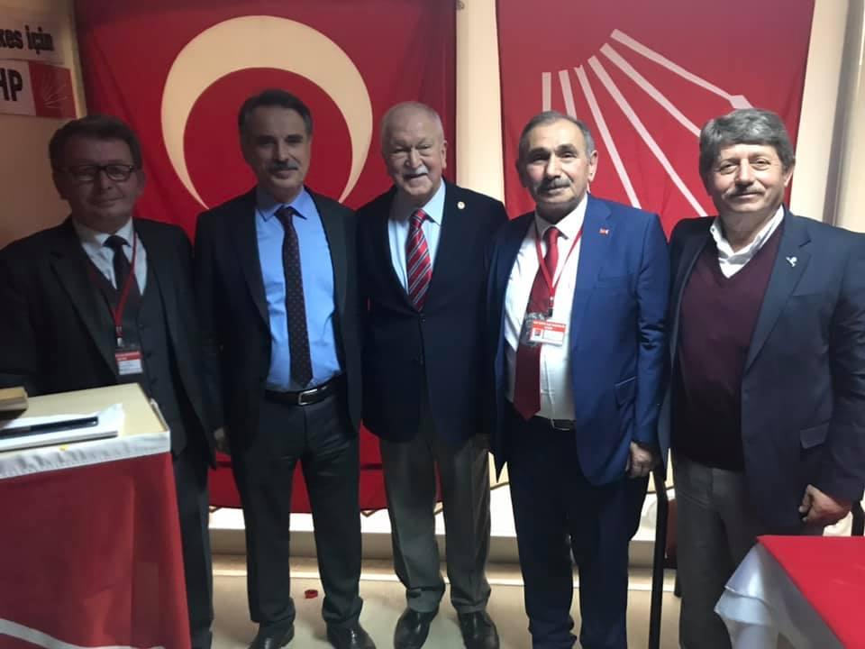 EŞREF BODUR ESPİYE CHP İLÇE BAŞKANI SEÇİLDİ
