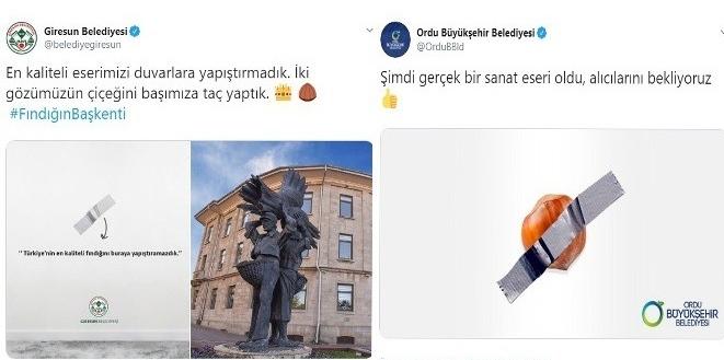 AKP'Lİ BELEDİYELERİ BANTLI FINDIK AYIRDI