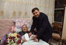 Photo of 83 YAŞINDA ÇALIŞAN GAZETECİ ERSEN KONAL'A 10 OCAK ZİYARETİ