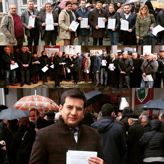CHP'LİLER GİRESUN'DA DA KANAL İSTANBUL'A İTİRAZ ETTİLER