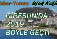 Photo of GİRESUN'DA YILIN OLAYLARI