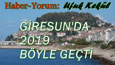Photo of GİRESUN'DA YILIN OLAYLARI