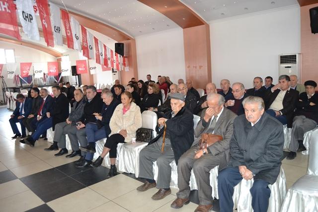 YAĞLIDERE CHP'DE DEĞİŞİM YOK