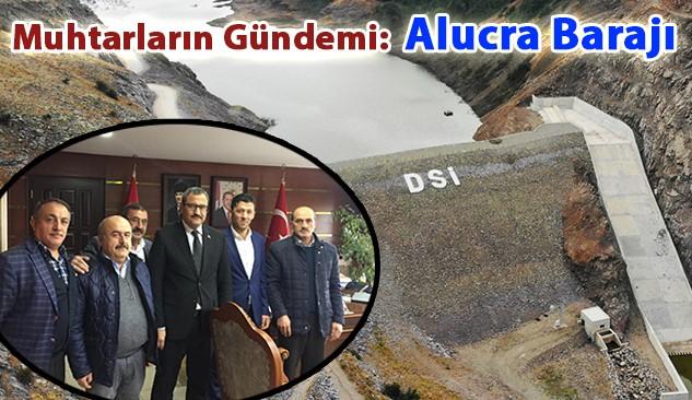 Muhtarlar Alucra Barajını Sordular