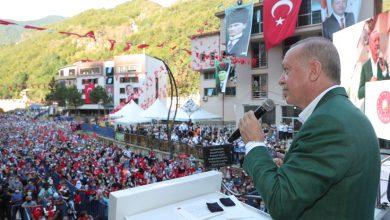 Photo of ERDOĞAN AFET ALANINDA MİTİNG DÜZENLEDİ
