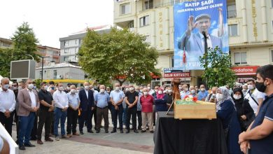 Photo of DR. KATİP ŞADİ'YE VEDA