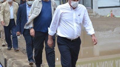 Photo of MUHARREM İNCE AFETİN VURDUĞU DERELİ'DE…