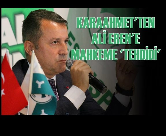 """""""BOZBAĞ DÖNEMİ AKLANDI, ALİ EREN TEMLİĞİ KALDIRMALI"""""""
