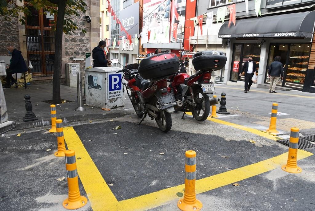 GİRESUN'DA TRAFİĞE KAPALI ALANLARA MOTOSİKLETLER DE GİREMEYECEK