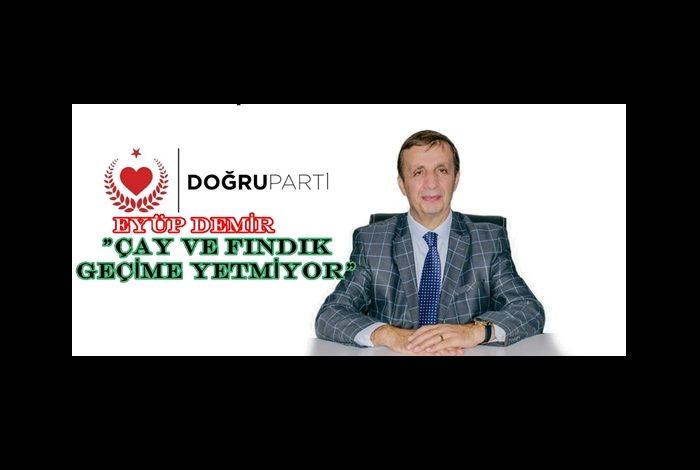 """""""KARADENİZ BÖLGESİ HIZLA BOŞALIYOR VE FAKİRLEŞİYOR"""""""