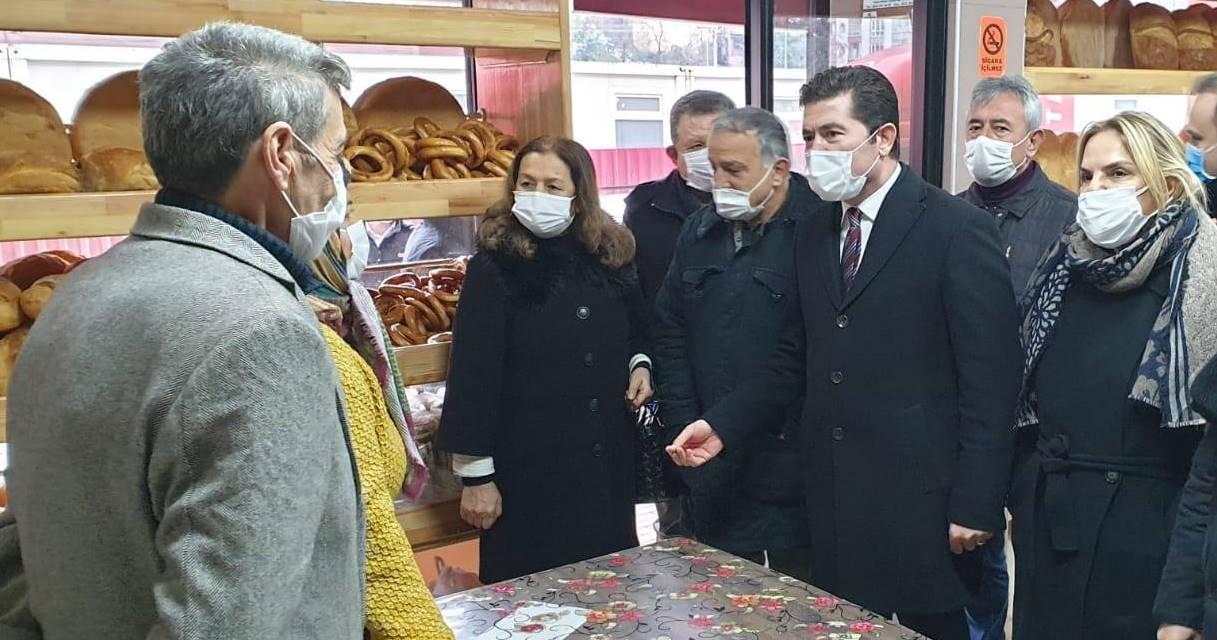 """CHP HEYETİ AFET BÖLGESİNDE: """"YARALAR SARILMADI"""""""