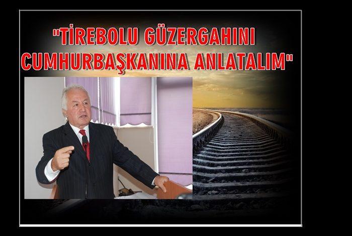 ALİ KARA 'DEMİRYOLU' DİYOR, KİMSE DİNLEMİYOR