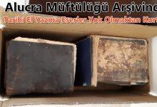 Photo of EL YAZMASI KİTAPLAR ÇÖPTEN KURTULDU