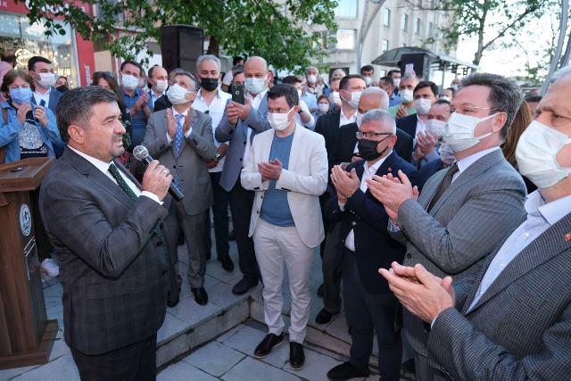 GİRESUN'A MİNARE ALEMİ TASARIMLI SAAT KULESİ