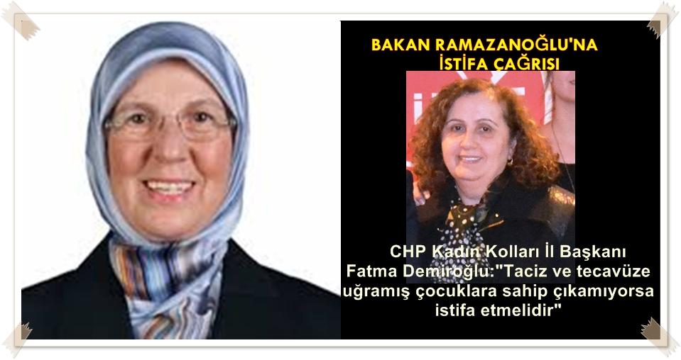 BAKANA CHP KADIN KOLLARINDAN TEPKİ