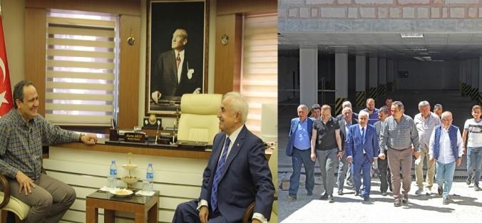 AKP'Lİ VALİ ŞAHİN GİRESUN'DAYDI