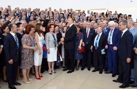 ATTAR'A AZERBAYCAN DEVLET ÜSTÜN HİZMET MADALYASI
