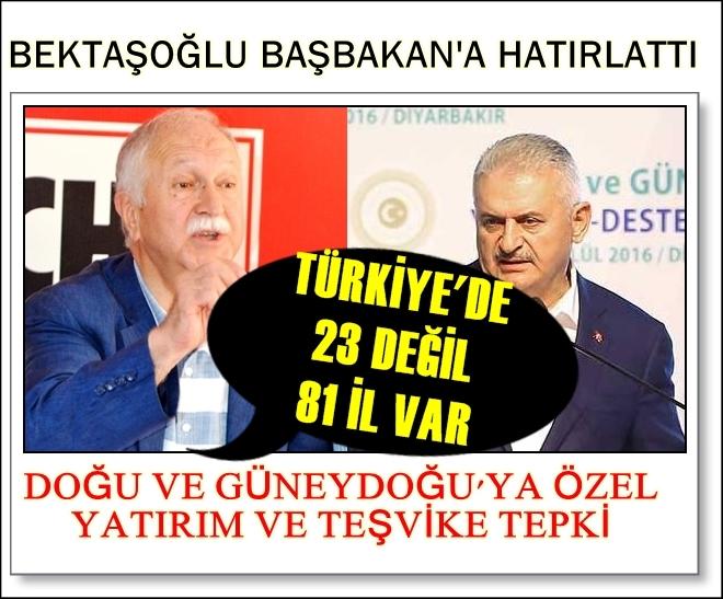 Photo of BEKTAŞOĞLU'DAN 'DOĞU'YA VAR DA BİZE NEDEN YOK' TEPKİSİ