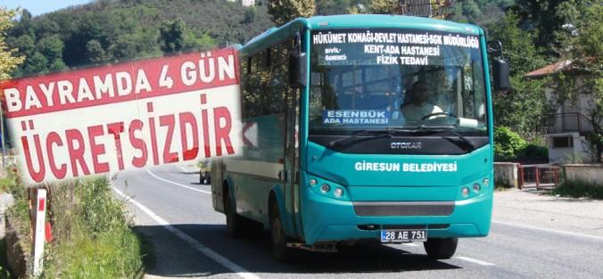 BELEDİYE OTOBÜSÜ BEDAVA!..