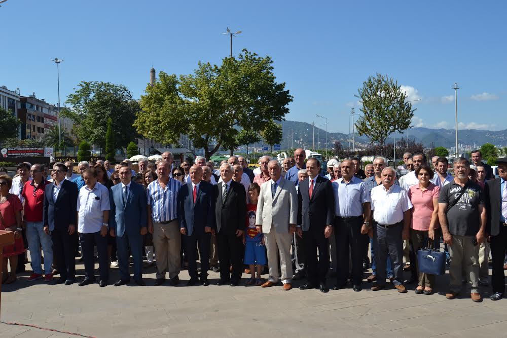 CHP GİRESUN'DA 93'ÜNCÜ YAŞINI KUTLADI