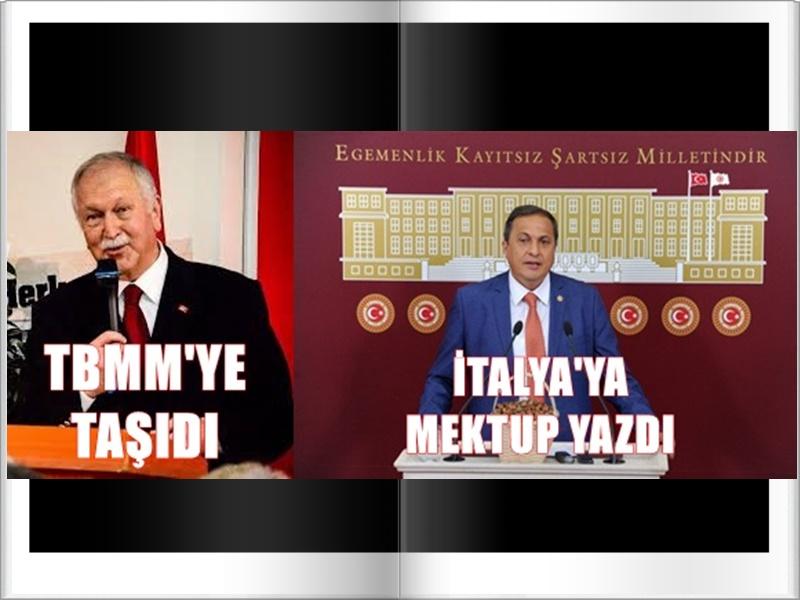 CHP'DE GÜNDEM AFLOTOKSİN...