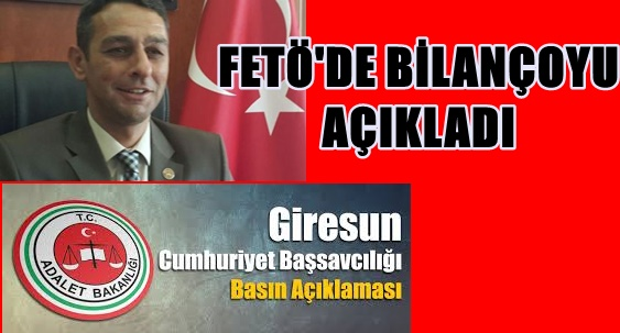Photo of BAŞSAVCI OZAN KAYA: FETÖ/PDY'DEN 309 KİŞİ TUTUKLU