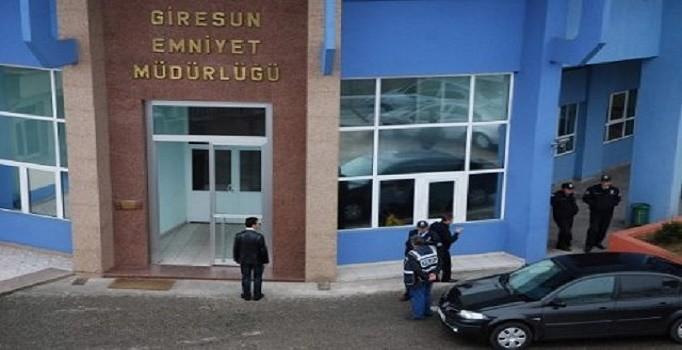 GİRESUN'DA FETÖ'DEN UZAKLAŞTIRILAN POLİS SAYISI