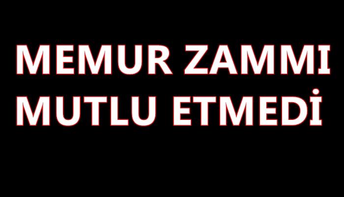 MEMURA 'GÜYA' ZAM!..