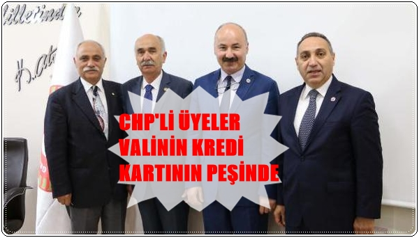 Photo of VALİ KARAHAN'A VERİLEN KREDİ KARTI ARAŞTIRILACAK…
